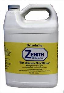 Ultrasonic Cleaning Solutions & Rinses - Zenith Ultrasonic Solutions