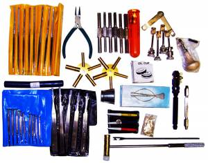 Clockmakers & Watchmakers Specialty Tools & Equipment - Clock Repairman's Tool Kit