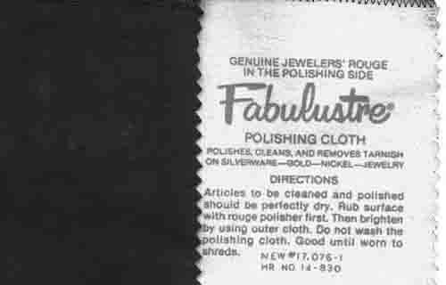 4d6d9e6dfae Fabulustre Rouge Polishing Cloth