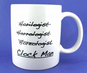 Novelty Items - Horological Coffee Mugs