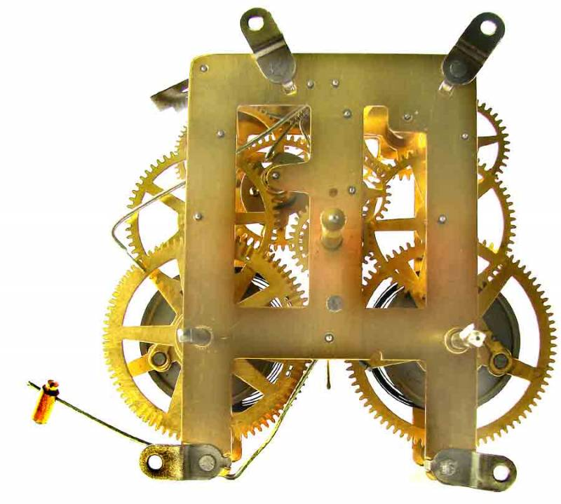 8 Day Mantel Clock Movement