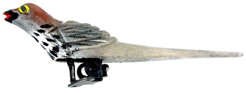 Bird Replacement Parts : Wood cuckoo bird