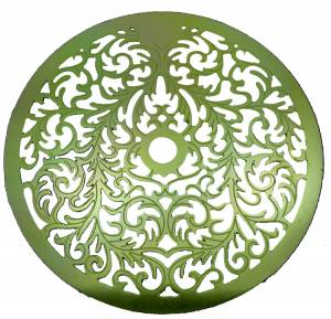 "Etched Aluminum 5-1/8"" Dial Mask - Image 1"