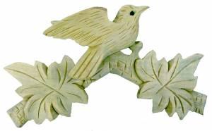 "SCHWAB-14 - Cuckoo Bird Top 6 3/4"" Unfinished - Image 1"