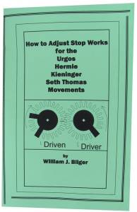 How to Adjust Stop Works for Urgos, Hermle, Kieninger, & S. Thomas Movements