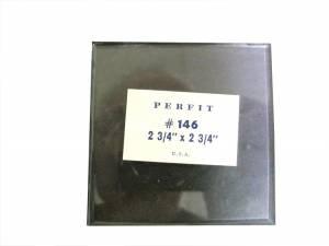 """2-5/8"""" Square Flat Beveled Glass - Image 1"""