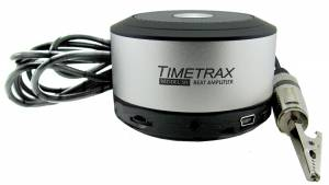 RADIO-44 - Timetrax Model #60 Beat Amplifier With PC/Smartphone Interface & Clip-on Sensor - Image 1