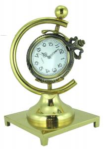 CAMBR-88 - Hunting Case Brass Pocket Watch Display - Image 1