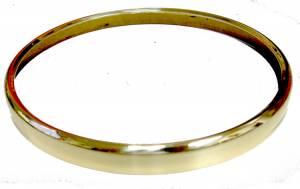 "5-5/16"" (135mm) Diameter Brass Finished Aluminum Bezel - Image 1"