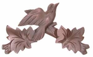 "Cuckoo Clock Top - 7-3/8"" Brown"