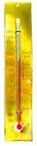 Kitchen Clock Thermometer - Image 1