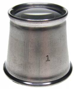 2.5X Aluminum Eye Loupe