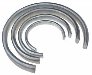 4-Piece Set of Flat Mainspring Clamps - Image 1