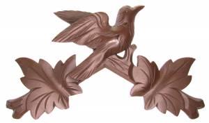 "12"" Brown Cuckoo Top"