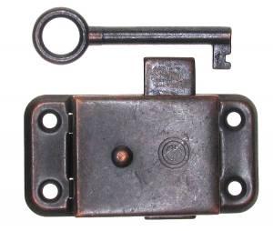 Steel Door Lock & Key Set