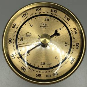 """PRIMEX - 2-3/4"""" Barometer"""
