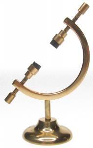 "3-1/2"" Brass Display Stand"