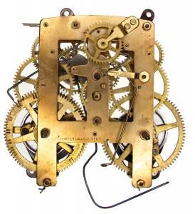 TT-21 - C4077 8-Day Kitchen Clock Movement - Image 1