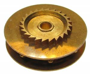 Chain Gear for German Clocks   39.5 x 25.0mm   Winds Counterclockwise
