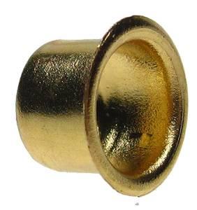 Brass Keyhole Barrel Grommet