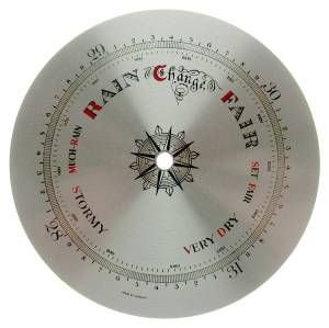 "5-1/8"" Barometer Dial with 3-7/8"" Pointer Track"