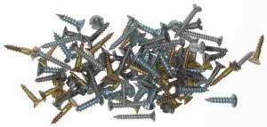 100-Piece Wood Screw Assortment