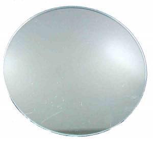 Pam-Ad Clock Round Convex Glass with Flattened Top - Image 1