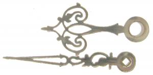 Fancy Serpentine Hands for German Clocks