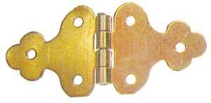 "Strap Hinge 1/2"" x 15/16"" - Brass - Image 1"