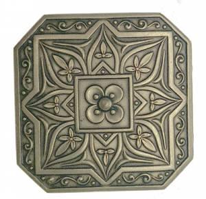 """Case Ornament-Antiqued 1-1/8"""" Square - Image 1"""