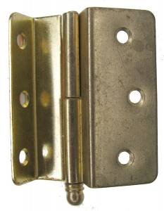 "Cabinet Door Hinge 2-1/4"" (57.15mm) long - Image 1"