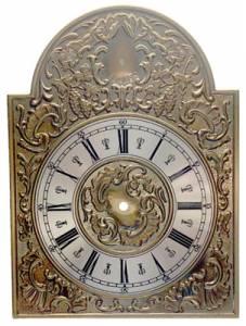 Embossed Brass Break-Arch Roman Dial - Image 1