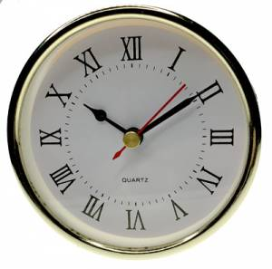 """102mm (4"""") Roman White Dial Fit-Up - Image 1"""