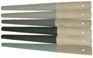 6-Piece Tapered 1/2-Round Sanding Stick Assortment