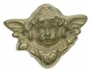 "Case Ornament - 2"" Antiqued Cherub - Cast - Image 1"
