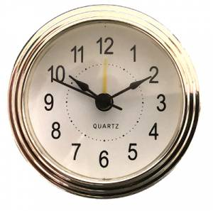 """78mm (3-1/16"""") Arabic White Dial Alarm Fit-Up - Image 1"""