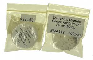 Electronic Module Screws  100-Piece Assortment
