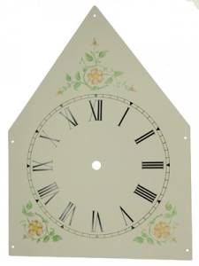 "Aluminum Steeple Dial with 4-7/8"" Time Track"