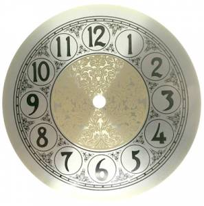 "6-5/16"" Fancy Arabic Dial with 5-1/2"" Time Track - Image 1"