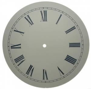 "11-1/8"" Ivory Roman Aluminum Dial"