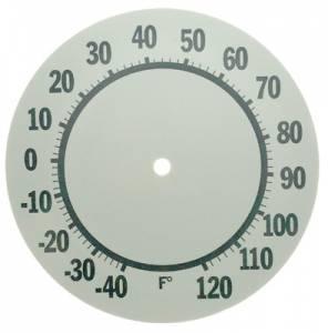 "6"" Aluminum Thermometer Dial"
