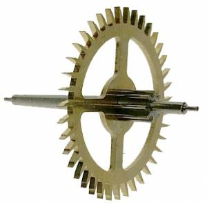 Hermle Deadbeat Escape Wheel for 55cm Pendulum