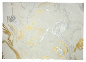 Marble Effect Paper - Dull White Background