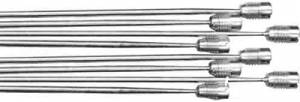 "8-Piece Steel Triple Chime Rod Set - 17-1/4"" Longest  (6.5mm Fitting)"