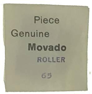 Movado Calibre 65   #730 Roller - Image 1