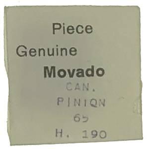 Movado Calibre 65   #240 Cannon Pinion (1.9mm H) - Image 1