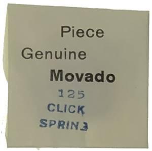 Movado Calibre 125 - #430 Click Spring - Image 1