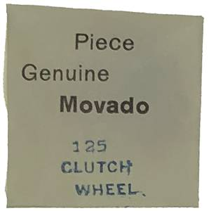 Movado Calibre 125 - #407 Clutch Wheel - Image 1