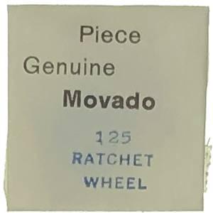Movado Calibre 125 - #415 Ratchet Wheel - Image 1