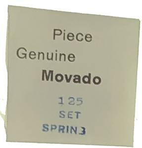 Movado Calibre 125   #440 Set Spring - Image 1